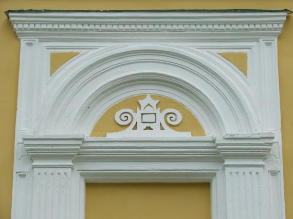 фрагмент отделки стены собора в Софрино