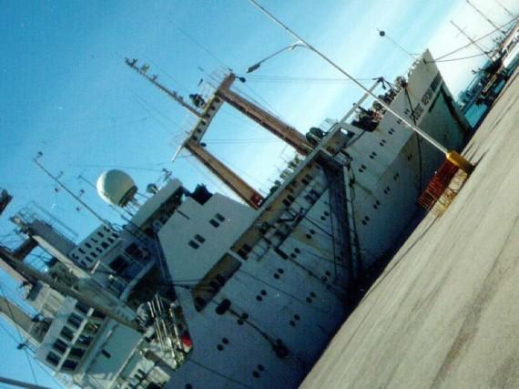 Корабли в Ялте