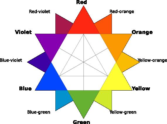Разноцветный могендавид