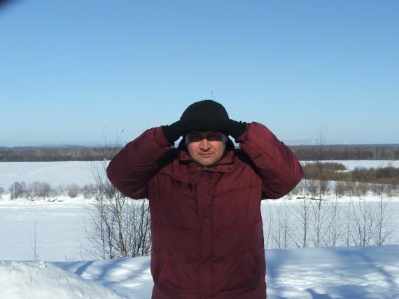 я, 2010 год, на Севере почти что