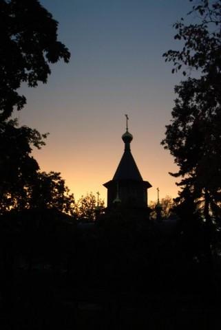 Малая церковь на территории Храма Христа Спасителя