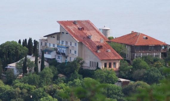 постройки на маяке Ай-Тодор