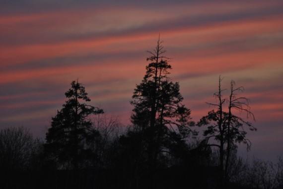 после захода солнца